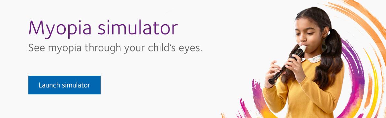 Myopia Vision Simulator